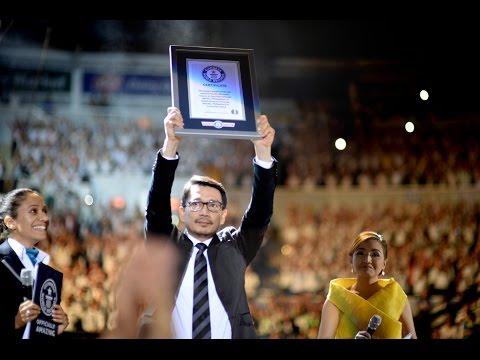 MCGI bags Guinness World Record for the Largest Gospel Choir
