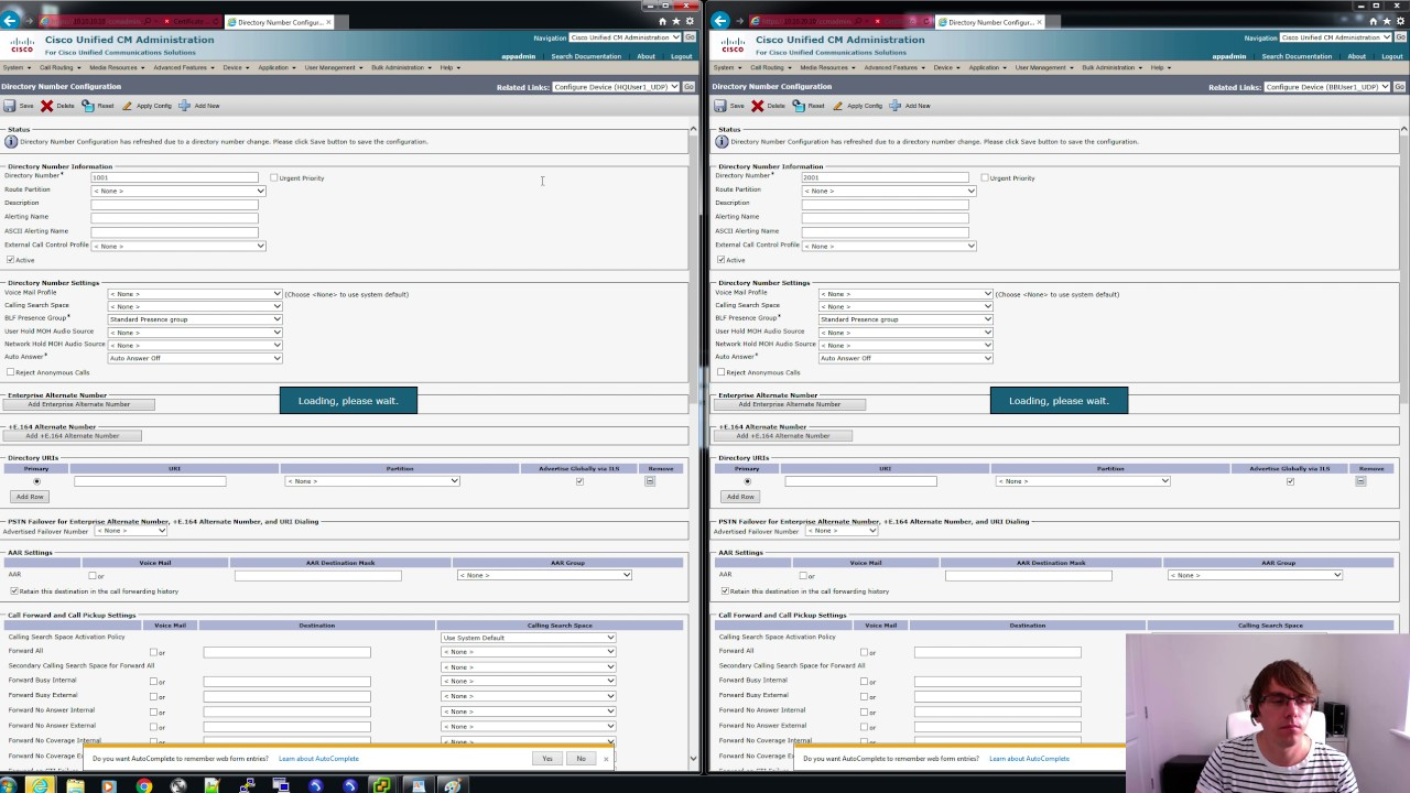 Cisco Collaboration - Extension Mobility Cross Cluster - Part 1