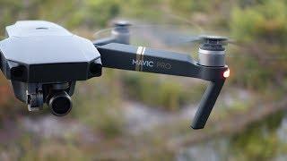 Как летает новый квадрокоптер