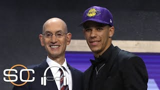Lonzo Ball To Make Biggest Impact For Lakers | SC with SVP | June 23, 2017
