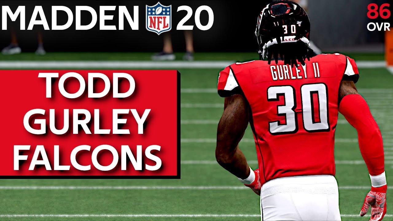 Rb Todd Gurley Atlanta Falcons Madden 20 Nfl Free Agency 2020 Ps4 Xbox 1 Pc Youtube
