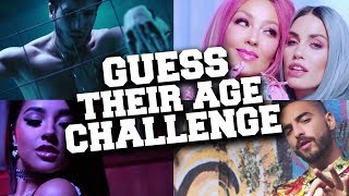 Try To Guess The Age Challenge 😱 : Spanish Singers