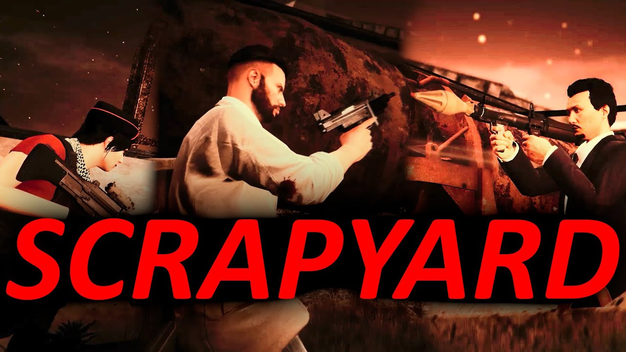 GTAO Scrapyard Survival but it's an Action Movie