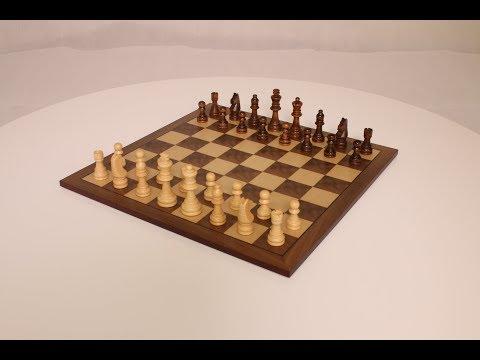 Staunton Wooden Chess Board Set