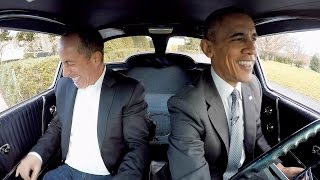 President Obama does a Ride Along w/ Seinfeld | Comedians in Cars Getting Coffee (1080)