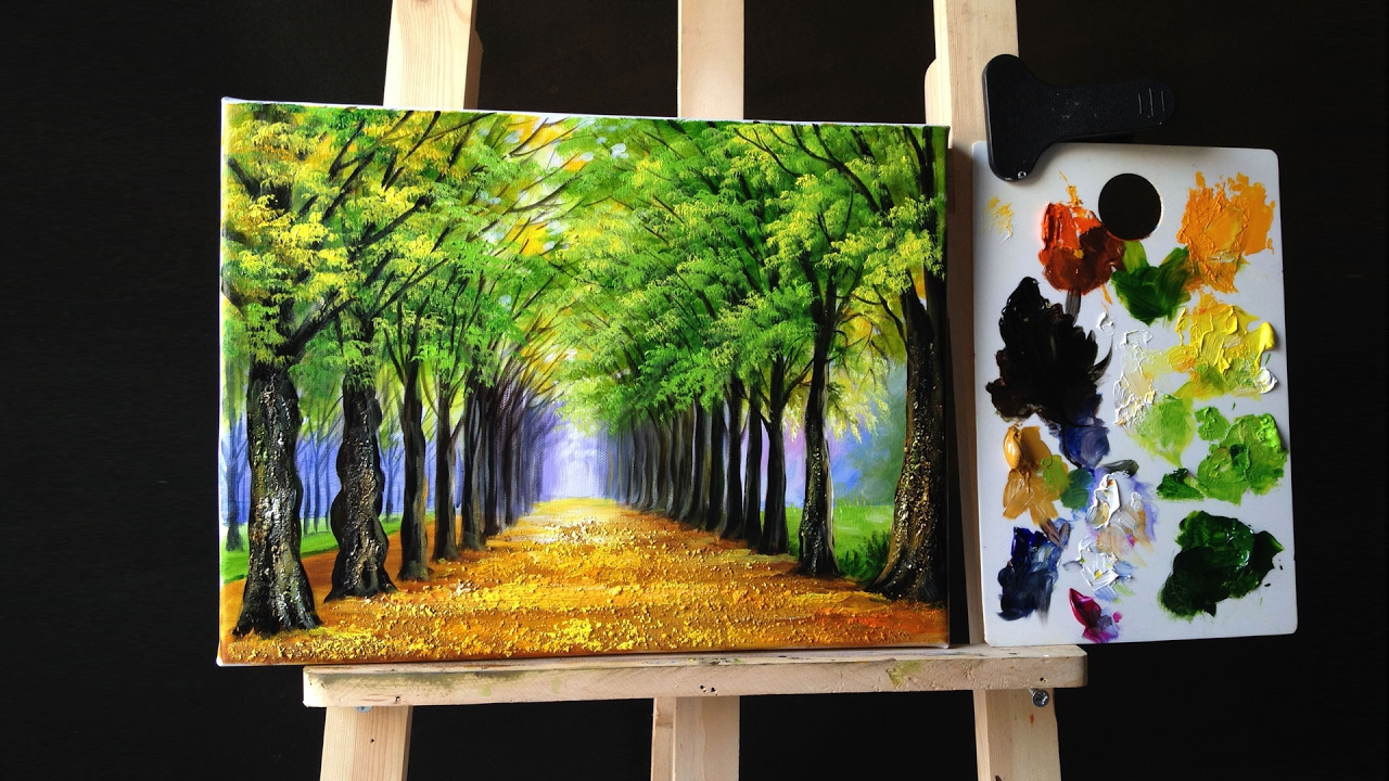 Easy To Paint Acrylic Pictures