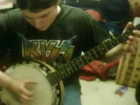 billy conolly style banjo play