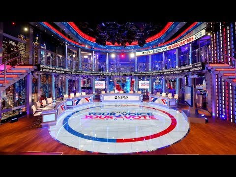 Behind the scenes on Election Day: 360-degree video of the ABC News election set