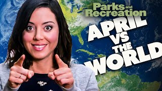April Ludgate Vs The WORLD | Parks and Recreation | Comedy Bites
