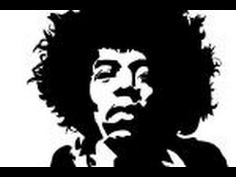 How To Draw Jimi Hendrix Youtube