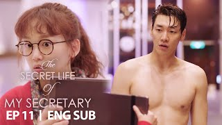 "Jin Ki Joo ""Cover your body with this"" [The Secret Life of My Secretary Ep 11]"