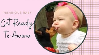 Cutest Babies Explore Backyard - Funny Fail Videos