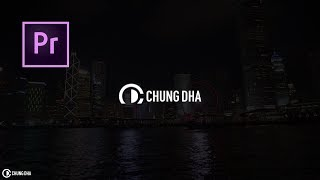Slide in Logo Intro with PNG image Adobe Premiere Pro Tutorial by Chung Dha