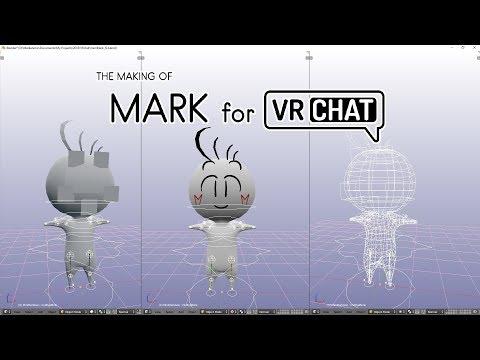 SpeedArt - Making Of Mark for VRChat - YouTube