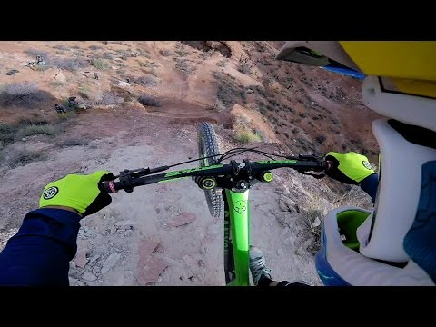 Darren Berrecloth Gets Loose on Gnarly Rampage Line GoPro Bike Video