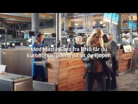 Få Eurobonus-poeng med MasterCard fra DNB