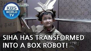 SIHA has transformed into a box robot!  [The Return of Superman/2018.12.23]