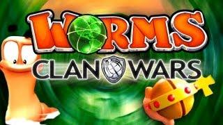Worms CLAN WARS - Что нового? [Обзор GamePlay]