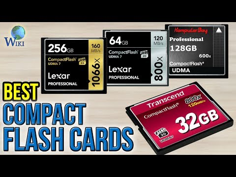 7 Best Compact Flash Cards 2017