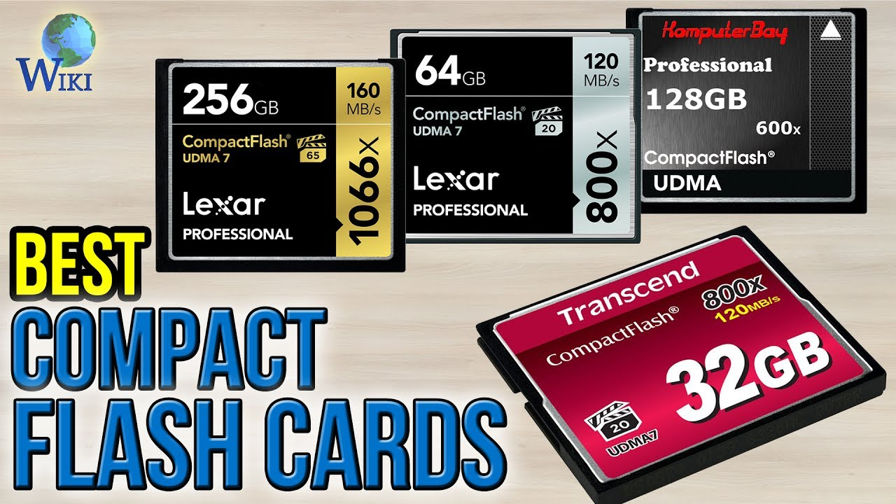 7 Best Compact Flash Cards 2017 - YouTube