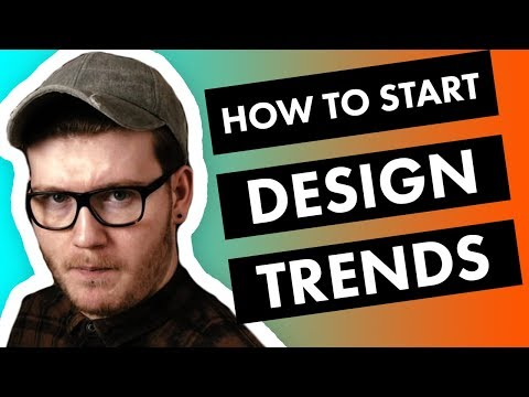 How To Start A 2018 Graphic Design TREND❓