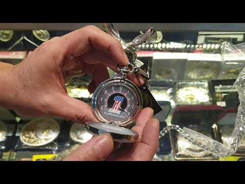 Vintage Harley Davidson Pocket Watch And Stand Review
