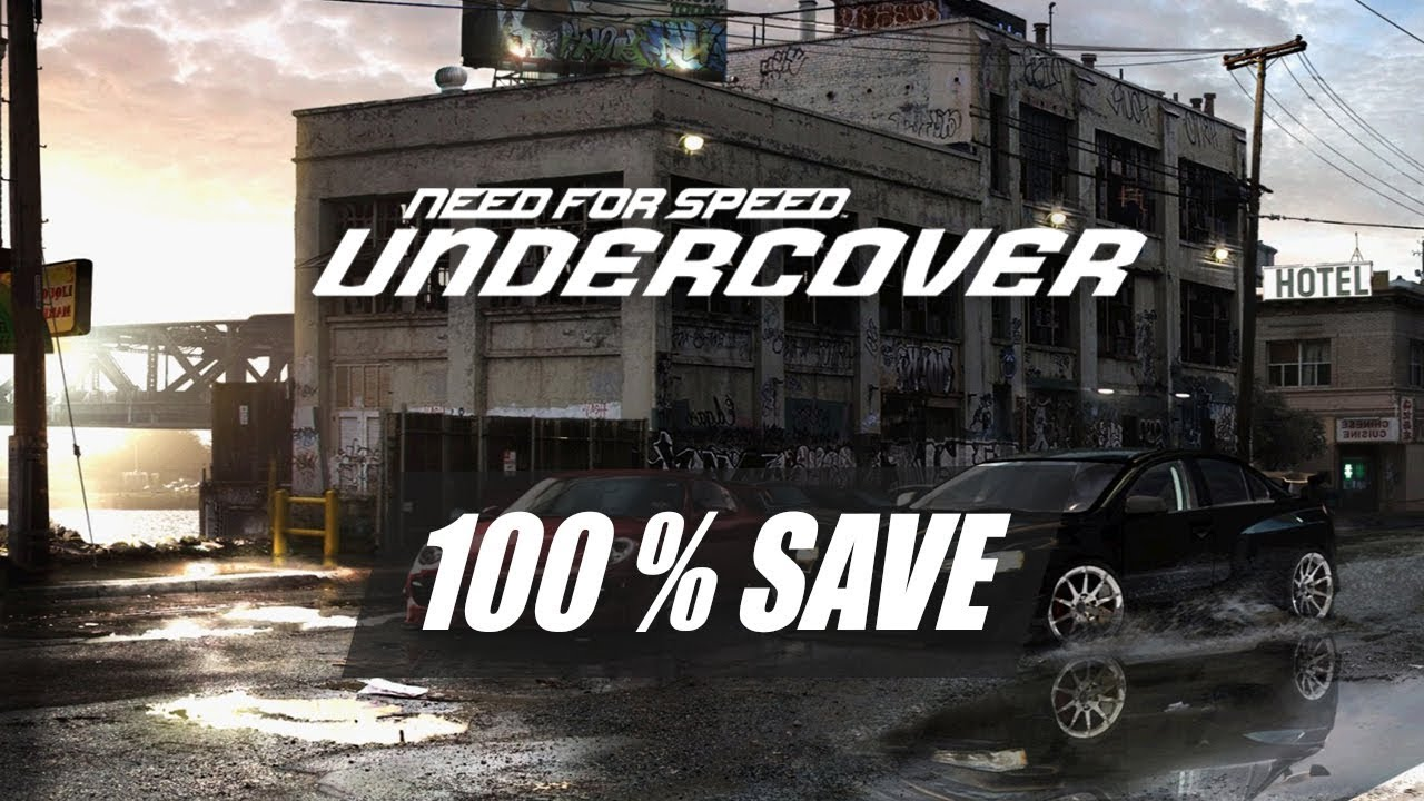 FOR TÉLÉCHARGER PC SPEED UNDERCOVER NEED SAUVEGARDE