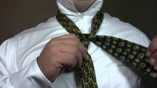 How To Tie a Tie: The St. Andrew