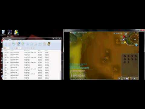 How To Use Axife Mouse Recorder To Auto Mine - Corrupted Gaming