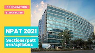 NPAT 2021 - Nmims | Sections/Patterns/syllabus/strategies | Fees structure,coaching for NPAT,SET?