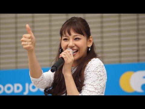 西内まりや 4thシングル「Save me」リリースイベント in 福岡マラソン2015EXPO 後半