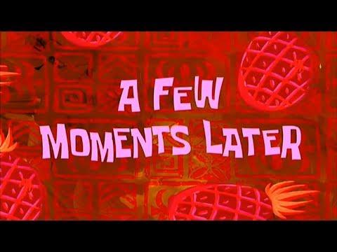 Hours later sound effect спанч боб время