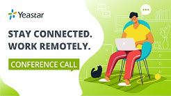 Remote Working & Conference Call Bind High Efficiency | Work from Home