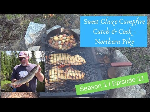 S1 E11 Northern Pike {catch, clean & cook} - Sweet Glaze