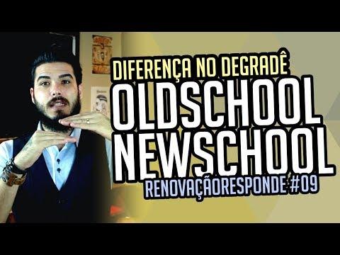 Qual a diferença entre um degrade newschool e um oldschool? RENOVAÇÃORESPONDE  #09
