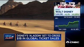 Disney's 'Aladdin' set to be 5th live-action release to reach $1 billion in global sales