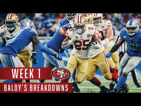 49ers Rookies and O-Line Impress in Week 1   Baldy's Breakdowns