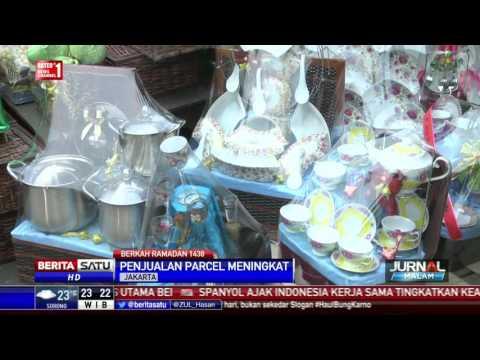 Penjualan Parsel di Cikini Laris Manis