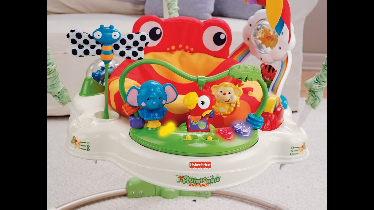 be58759e7 Review  Fisher-Price Rainforest Jumperoo - YouTube