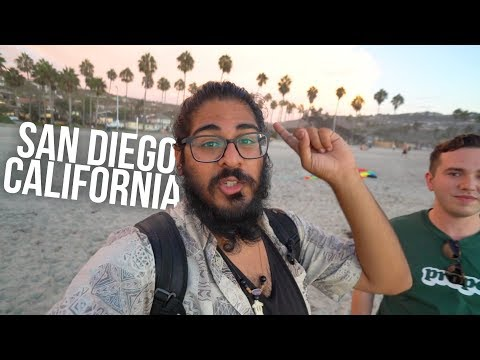 FIRST IMPRESSIONS of SAN DIEGO CALIFORNIA - San Diego Travel Guide