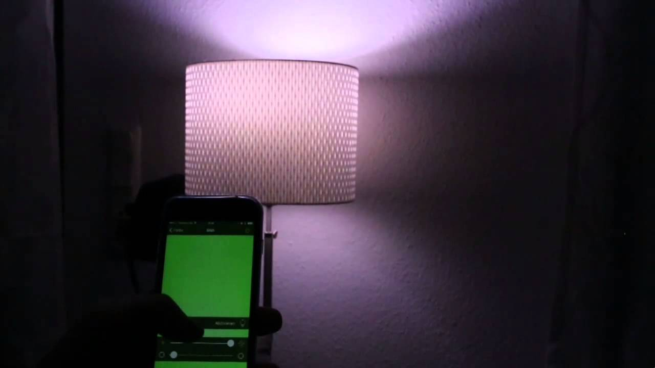 elgato avea led lampe per smartphone steuern test youtube. Black Bedroom Furniture Sets. Home Design Ideas