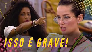 BRIGA! JULIETTE, LUMENA E A TRETA GRANDONA DO BBB 💣💥 | BIG BROTHER BRASIL 21