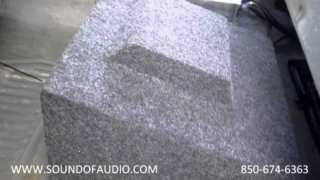 2005 Silverado 1500 >> Chevrolet Crew Cab 2007-13 Extra Deep Subwoofer Box - YouTube