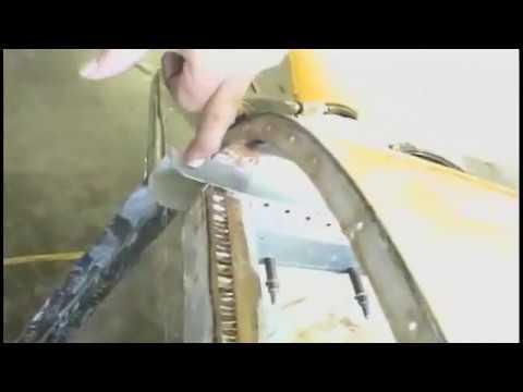 Engine Mount Extrusion Repair - Grumman Style
