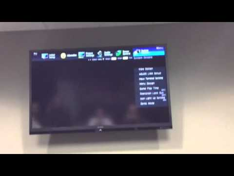 Sharp TV Video Set Up For NDS Loop