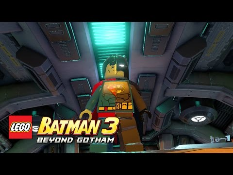 LEGO Batman 3: Beyond Gotham - Composite Superman Moon Base free roam