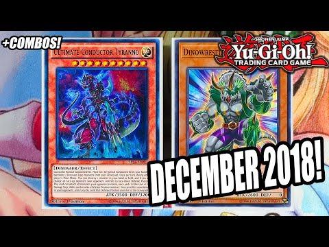 Yu-Gi-Oh! BEST! DINOSAUR DECK PROFILE! FT. DINOWRESTLERS! + BROKEN COMBOs! DECEMBER 2018 BANLIST!