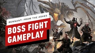 Remnant: From the Ashes - Boss Fight Gameplay (2-PLAYER CO-OP)