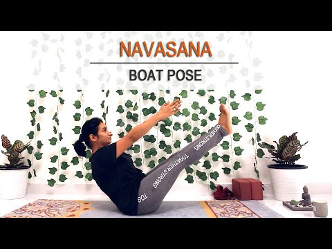 Boat pose variations | Navasana | Yoga for Abs | Reduce belly fat & get strong core with this pose