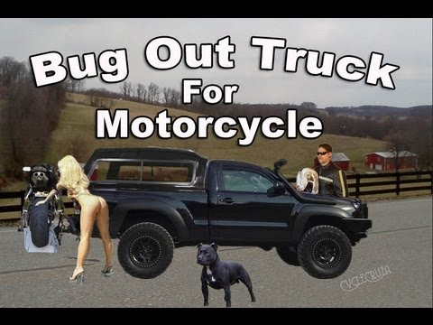 Bug Out Vehicle For Motorcycle Trip Youtube